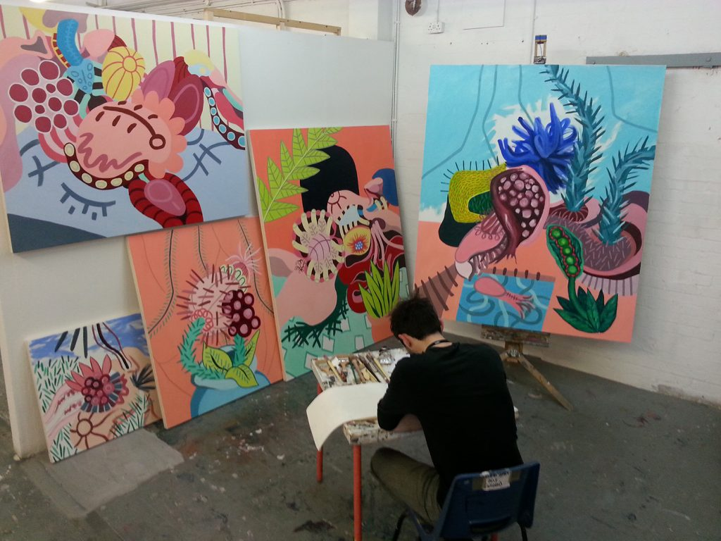 Will Thorburn Art Studio